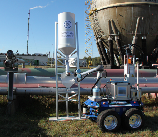 Human-Robot System Detects Gas Leaks
