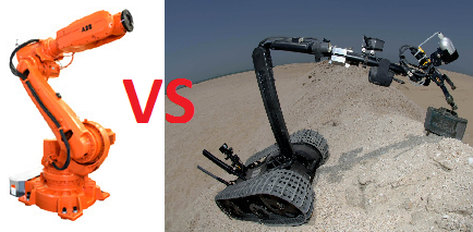 service robot industrial robot