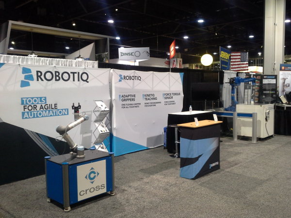 Fast Setup for Robotic Welders at Fabtech