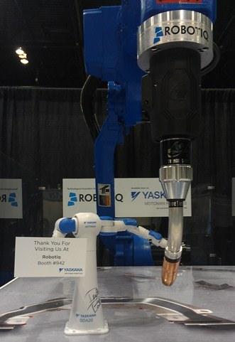 robotic welding, robotic welding programming
