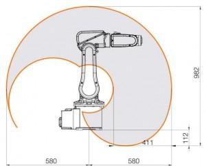 Industrial Robot Reach