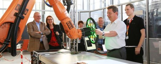 Industrial Robots in Collaborative Mode - The STROBAS Project