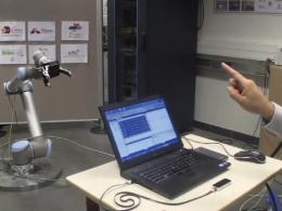Contactless Robot Teleoperation at Arts et Métiers ParisTech