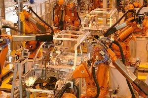 مونتاژ ربات kuka 1