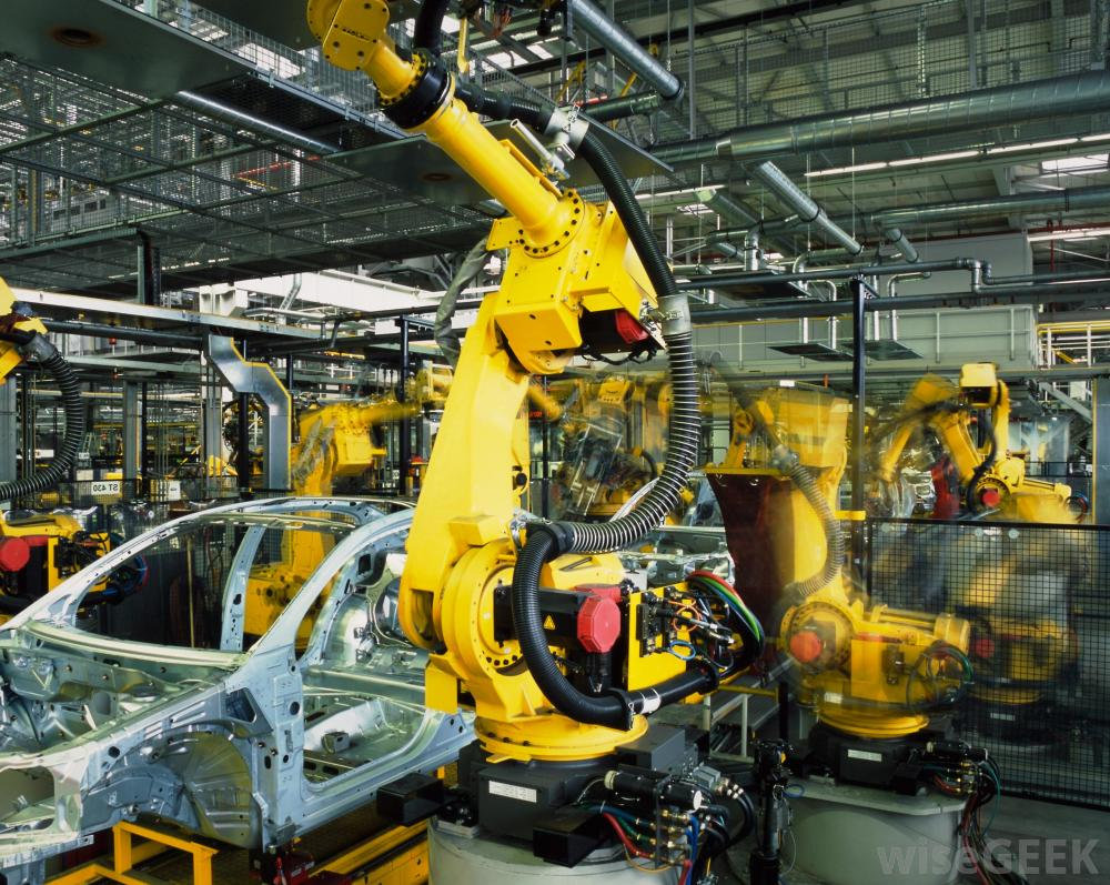 3 Types of Manufacturing We Couldn't Do Without Robots