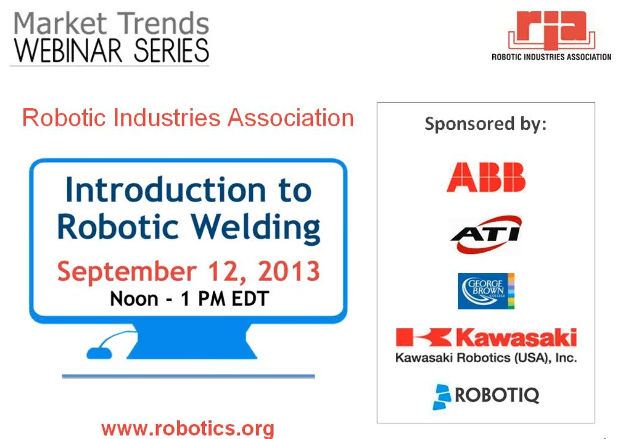 Robotic Welding: What do the Experts say? - Part 2