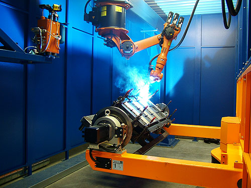 What is Included in Robotic Welding Systems?