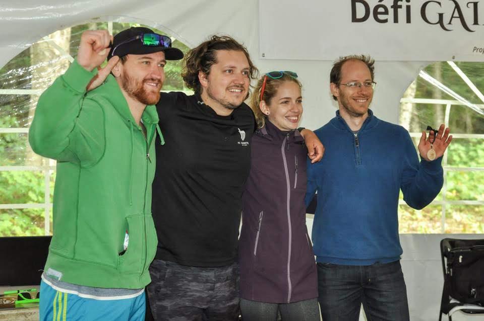 robotiq team third place défi Gaia