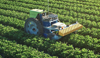 Agrobot's Bug Vacuum protects crops