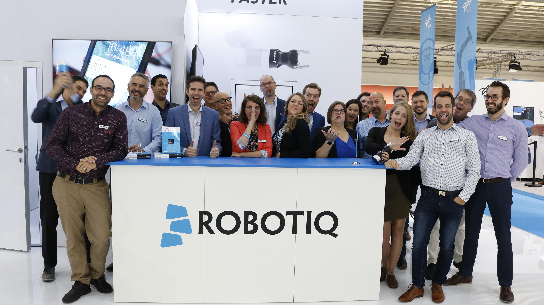 Automatica 2018 Robotiq Team Silly
