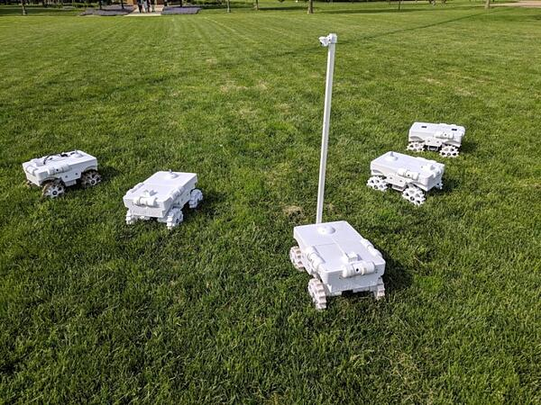 Crop counting robot