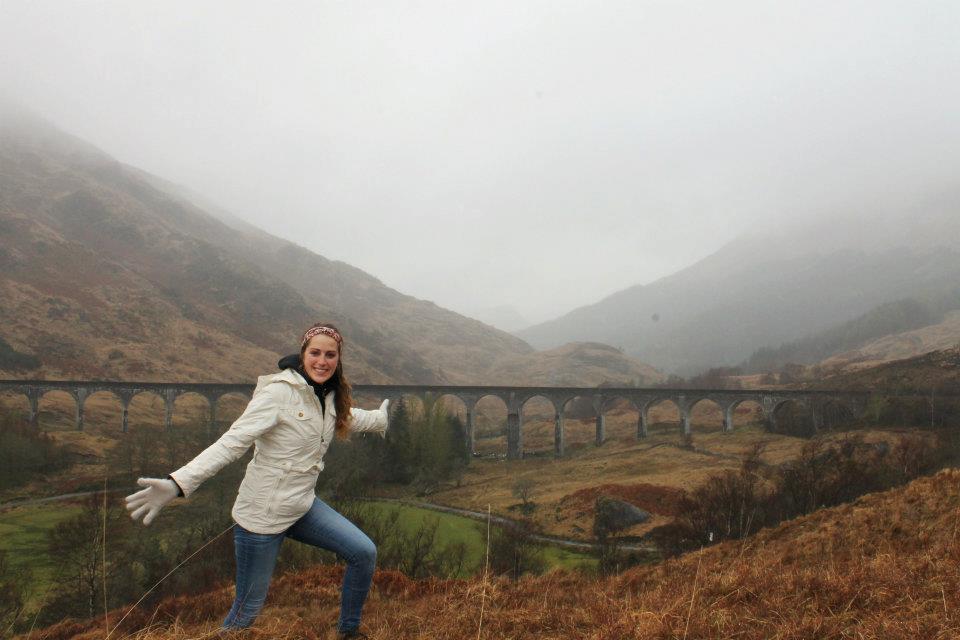 Harry Potter railway