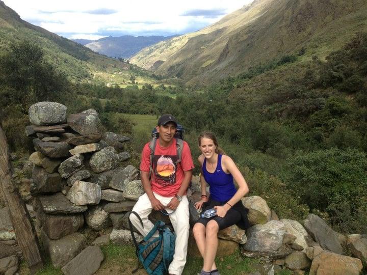 Hiking cordillères des andes1
