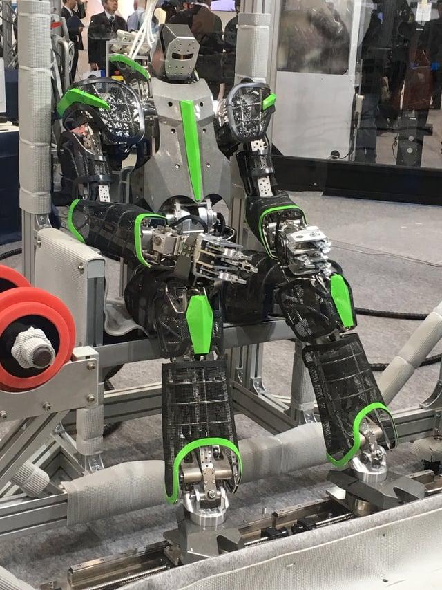 Kawasaki robot chilling out