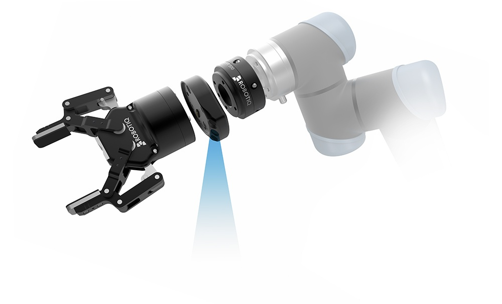Robotic arm with integrated smart camera