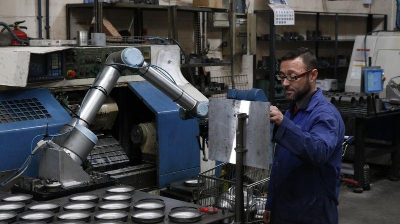 robotiq gripper ur robot factory