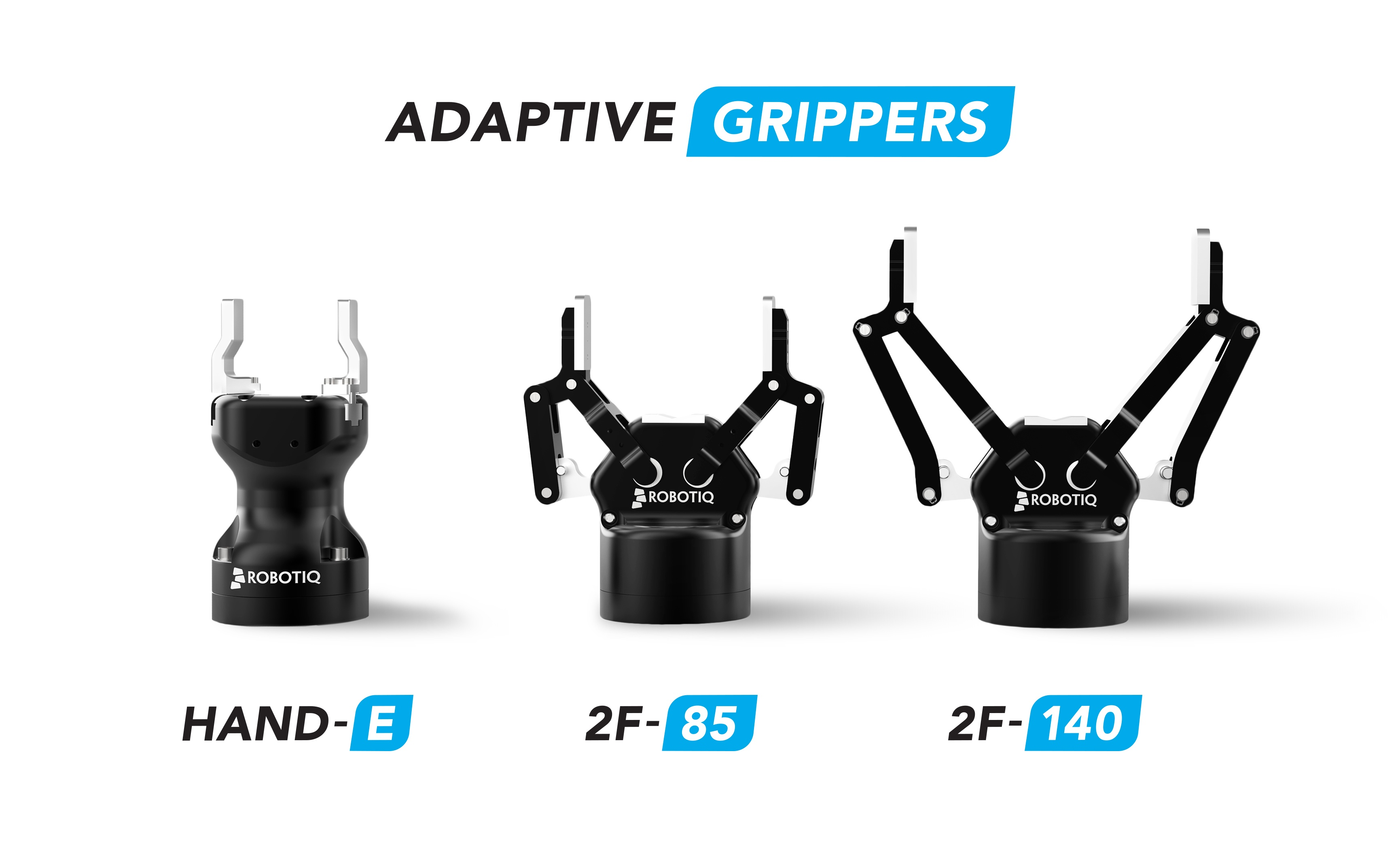 robotiq adaptative grippers family