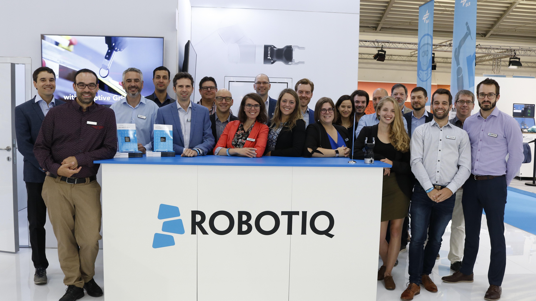 Automatica 2018 Robotiq Team