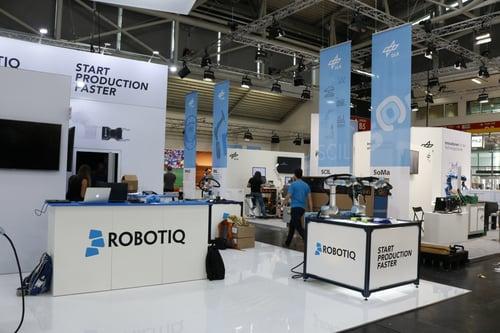 Automatica 2018 Robtiq Booth