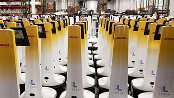 Locus bots 350 at DHL
