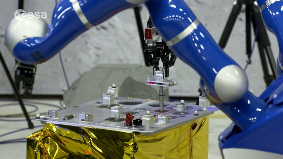 Robotiq Grippers Controlled From Space