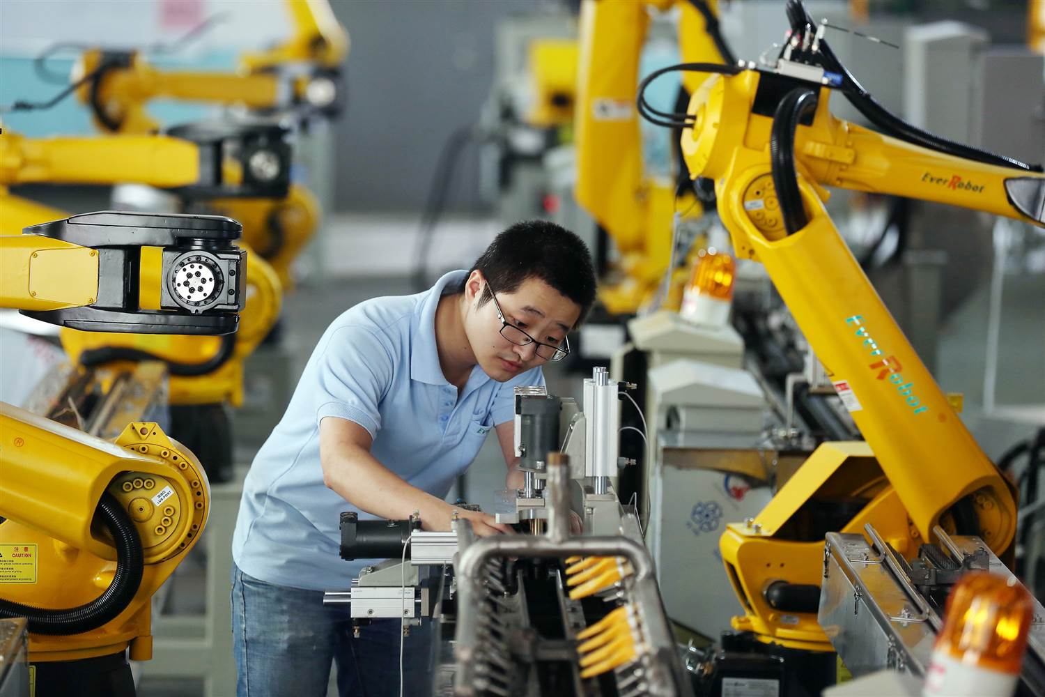 How Robots Are Changing the Industrial Landscape