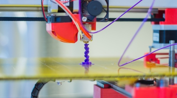 Make a Robot and 3D Printer Work Together