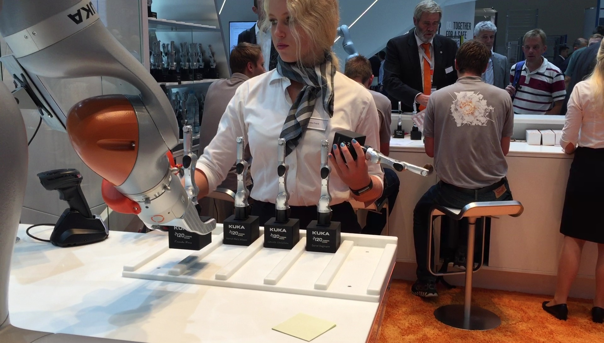 Cool Toys and Production Stats on Day 3 of Automatica 2018