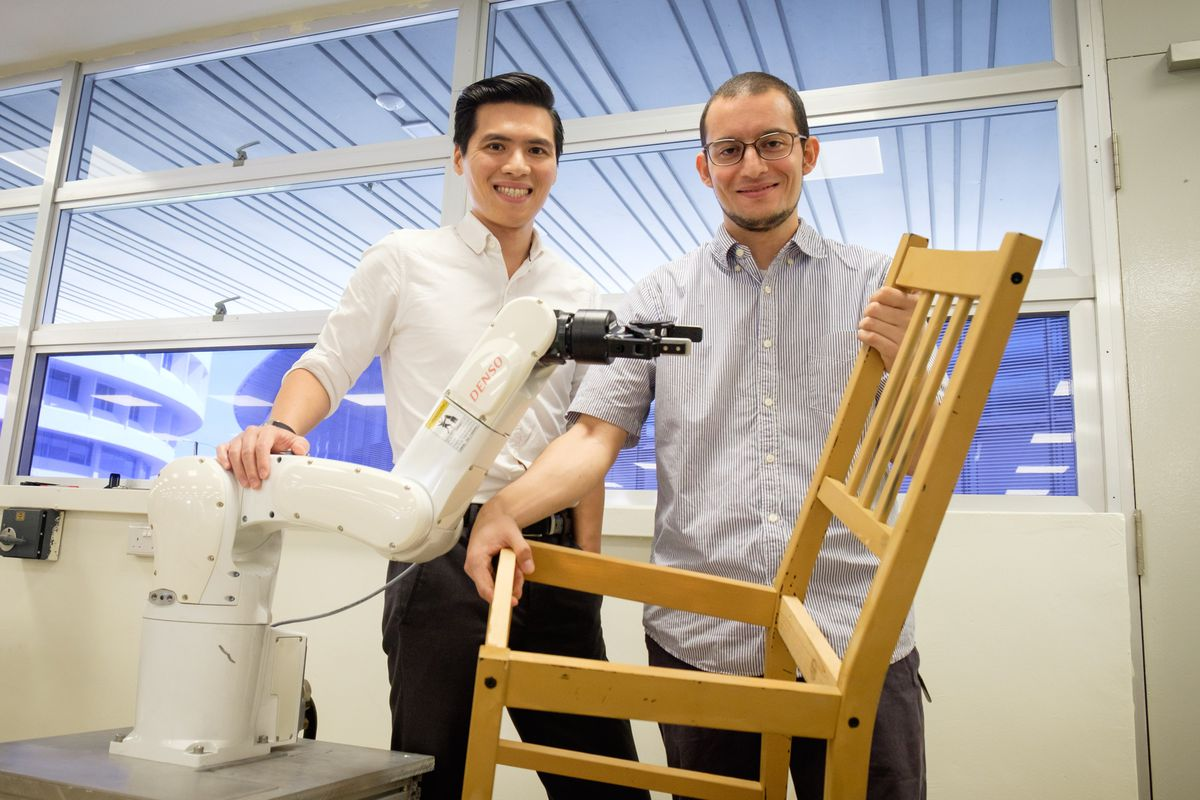 The Man Behind the Robot That Built an IKEA Chair: Francisco Suárez-Ruiz, NTU Singapore