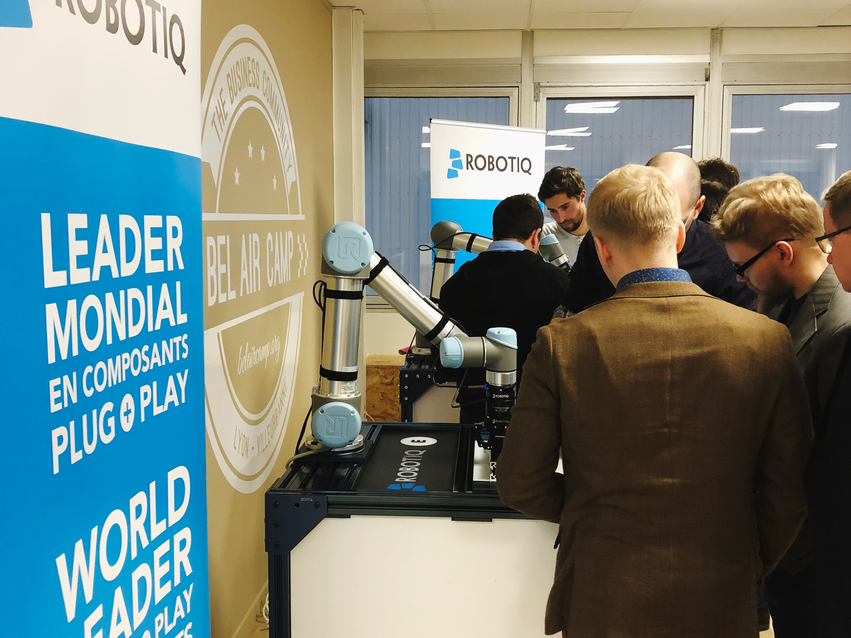 Robotiq's European Headquarters is Officially Open in Lyon