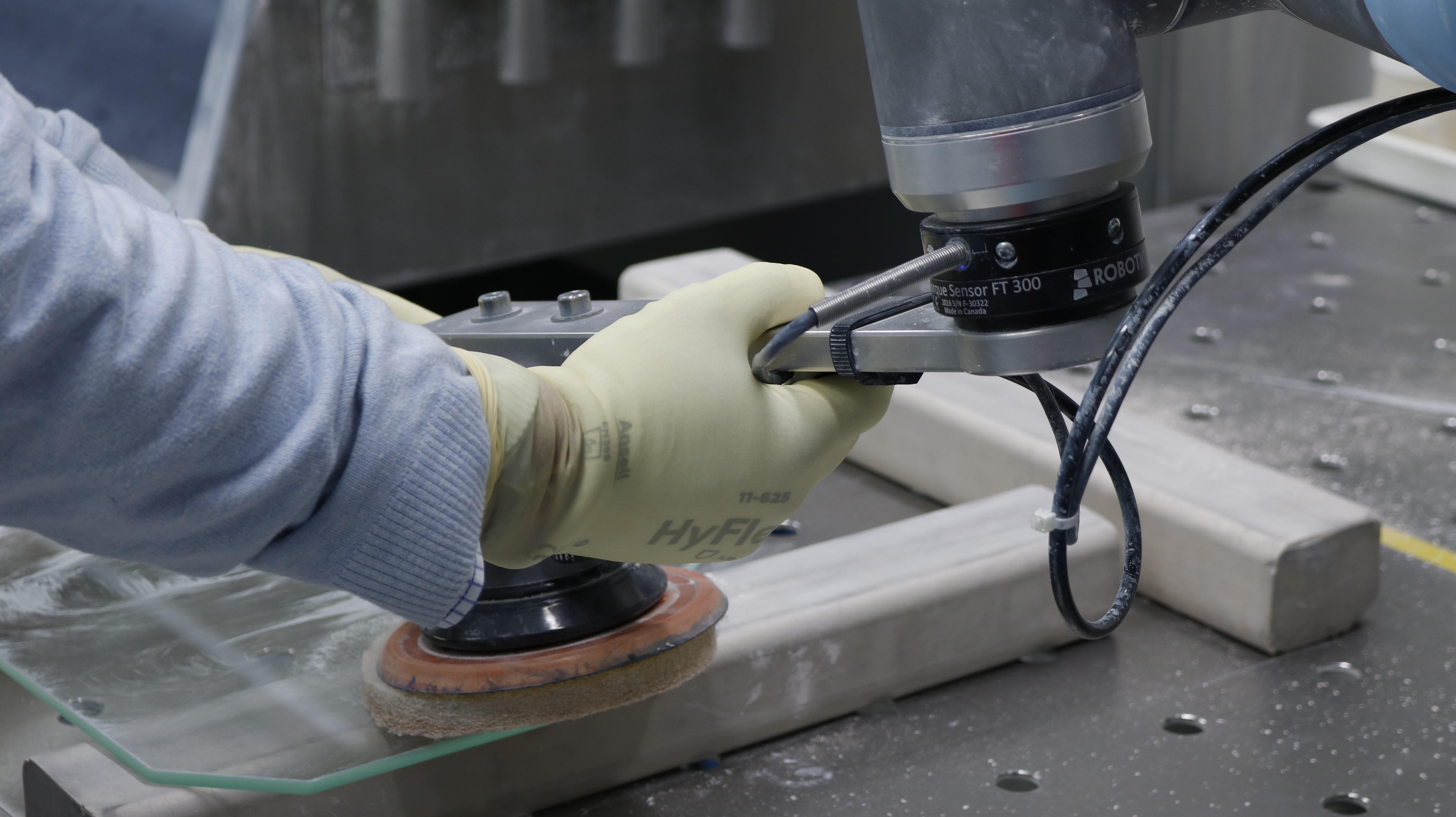 Perform Highly Repeatable Precision Tasks With the FT 300 Force Torque Sensor