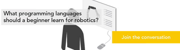what is the best programming language for robotics programming languages robotics