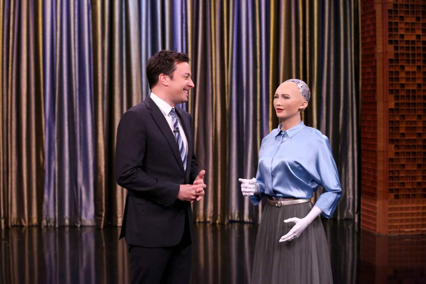 Sophia social humanoid robot