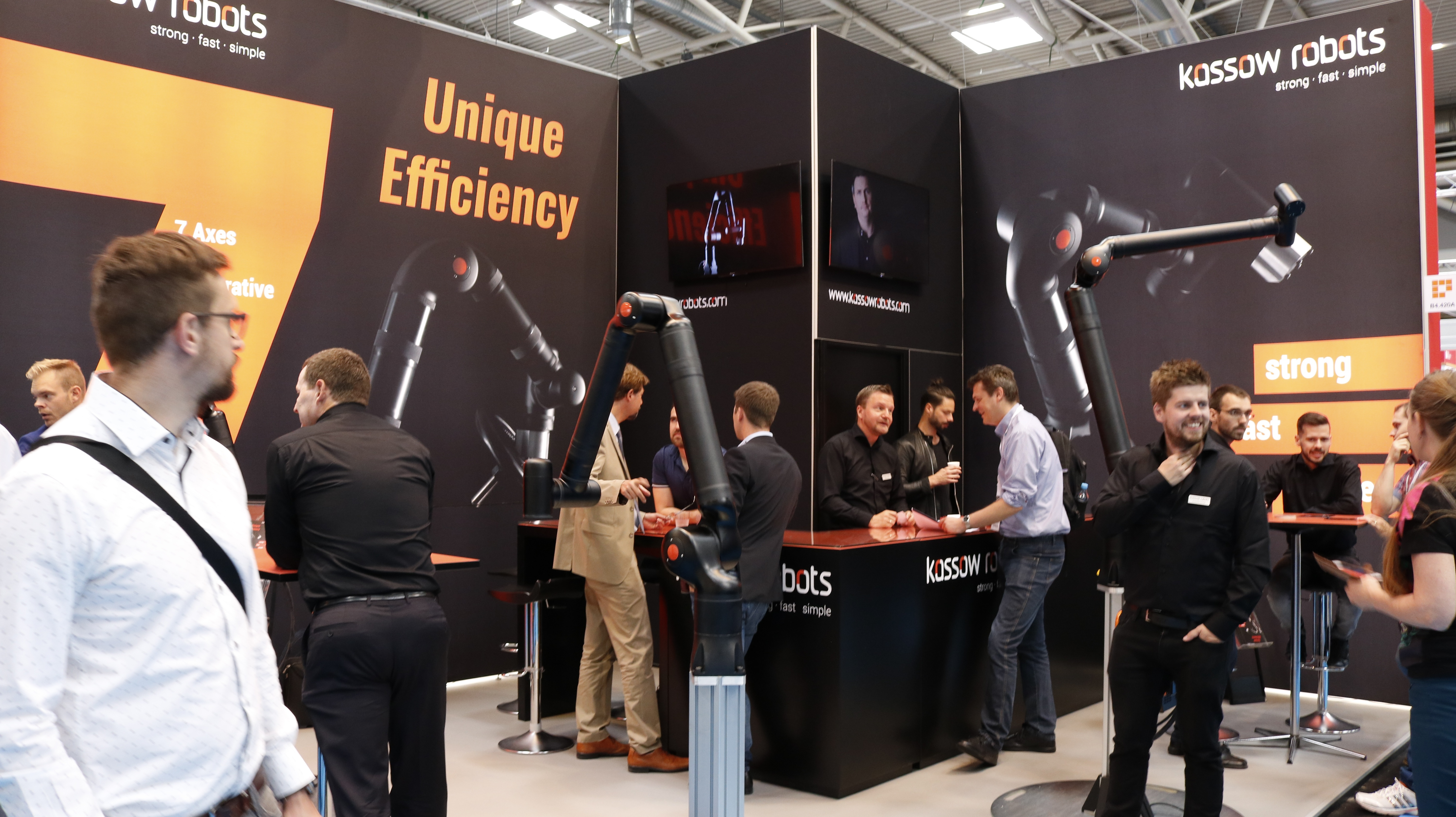 Automatica 2018 Kassow Full Booth
