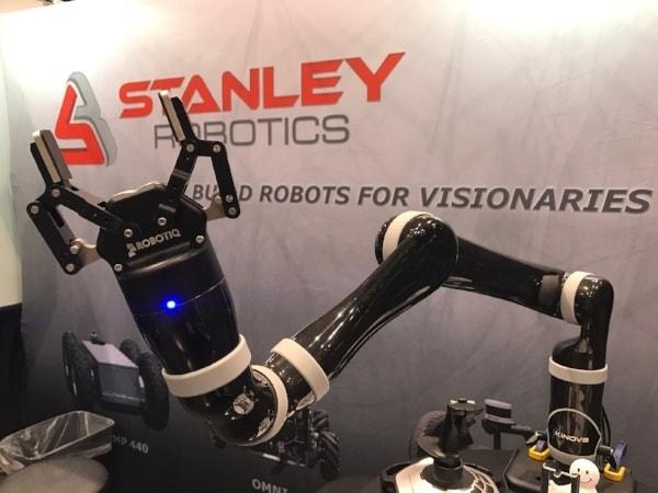 Stanley Robotics Unites Robotiq Grippers With Kinova Robot Arms