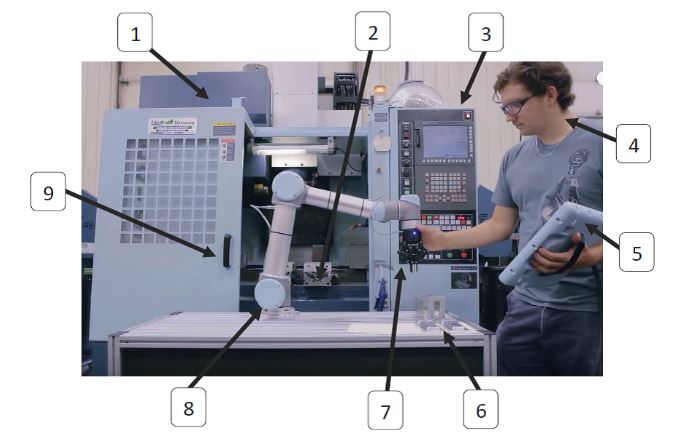 Anatomy of a Machine Tending Cell