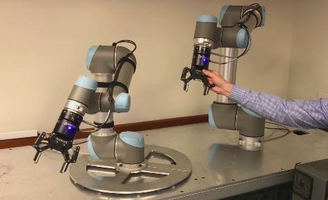 Allow Your Universal Robots to Communicate with One Another