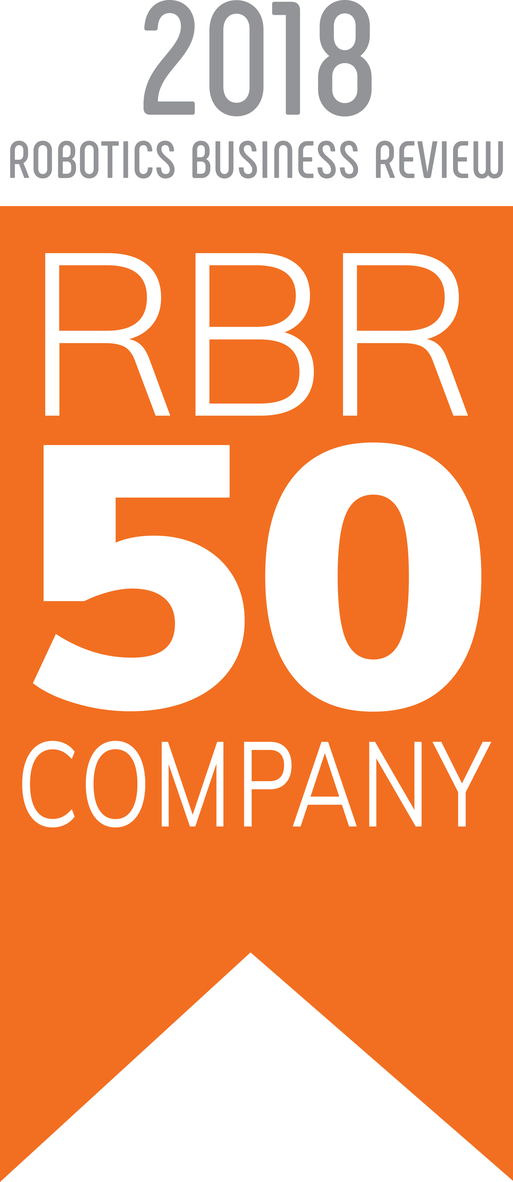 Robotiq Named One of the Top 50 Most Influential Companies in Robotics!